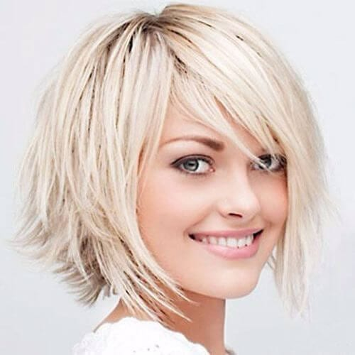 medium lenght bob haircut
