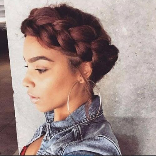 simple goddess braid