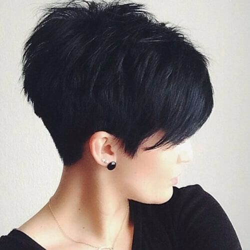 simple pixie cut