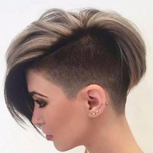 thick pixie cut