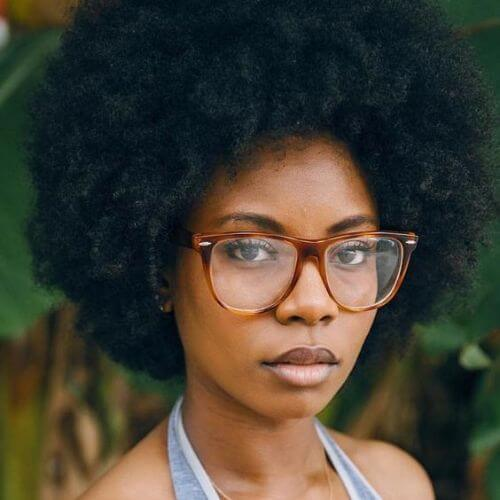 afro natural hairstyles