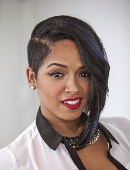 Stylish short asymmetrical pixie haircut - 70 Short Hairstyles For Black Women My New Hairstyles