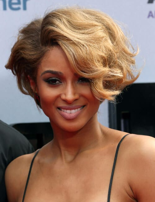 ciara short hairstyles for black women