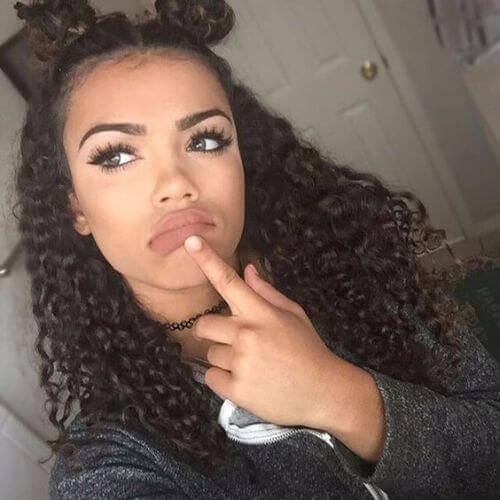 cute natural hairstyles