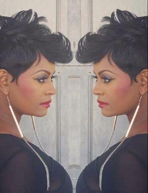 elegant short hairstyles for black women