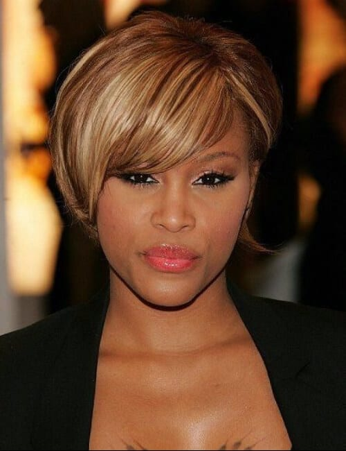 eve short hairstyles for black women