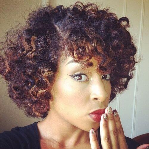 natural hairstyles with great loose curls