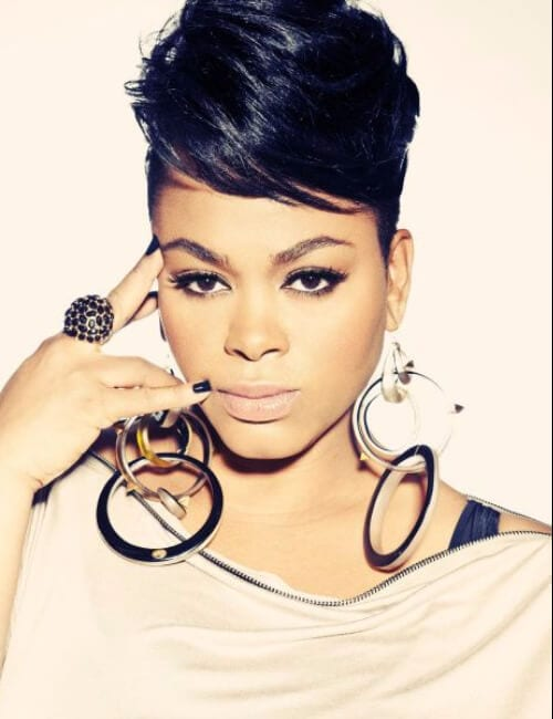 jill scott short hairstyles for black women