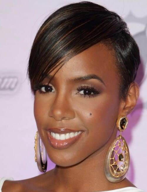 kelly rowland short hairstyles for black women