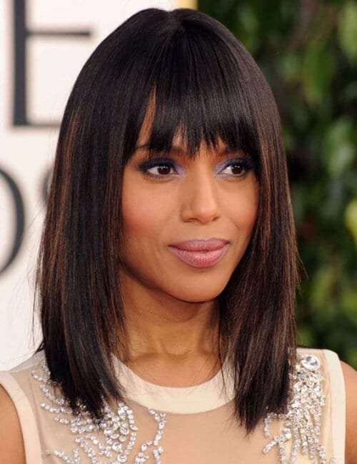 kerry washington short hairtsyles for black women