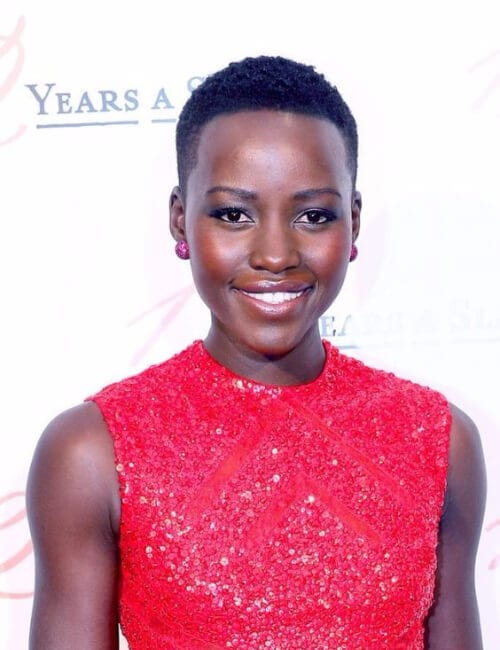lupita nyong'o short hairstyles for black women