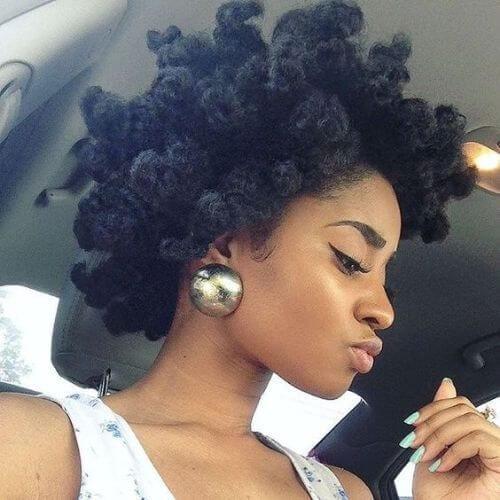 natural hairstyles ideas faux bantu knots