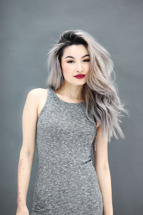 natural grey hair