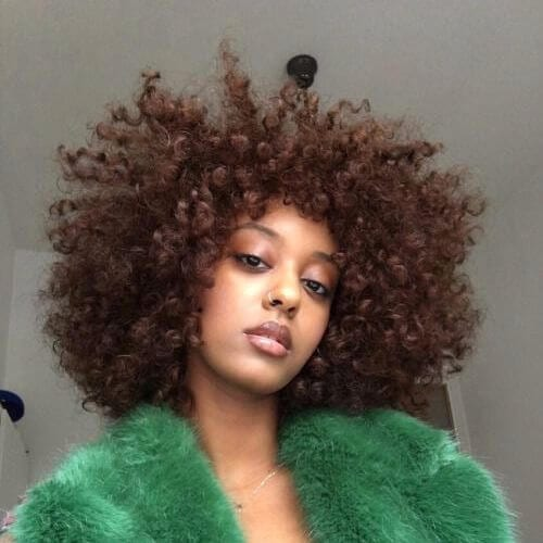 natural hairstyles for curls