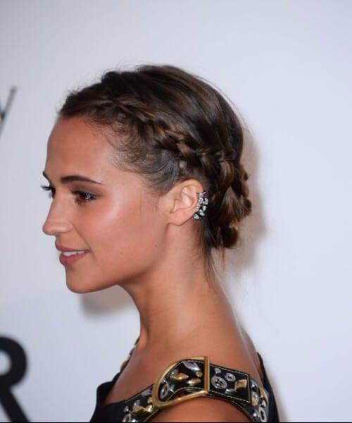 alicia vikander homecominh hairstyles