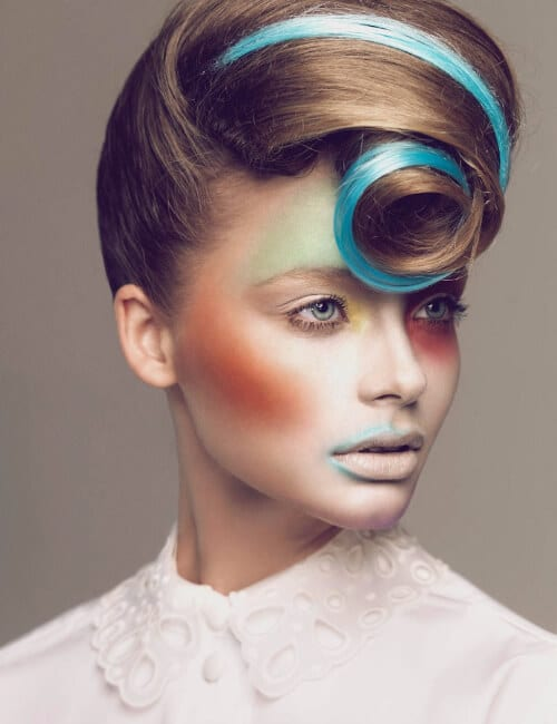 avantgarde hair modern meets retro updos for long hair