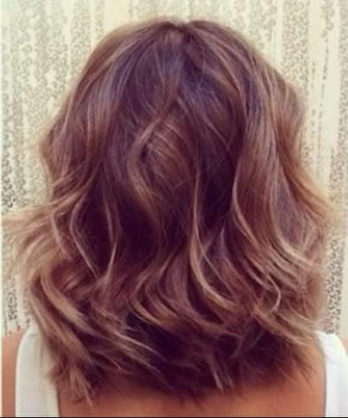 beach waves shoulder length hairstyles