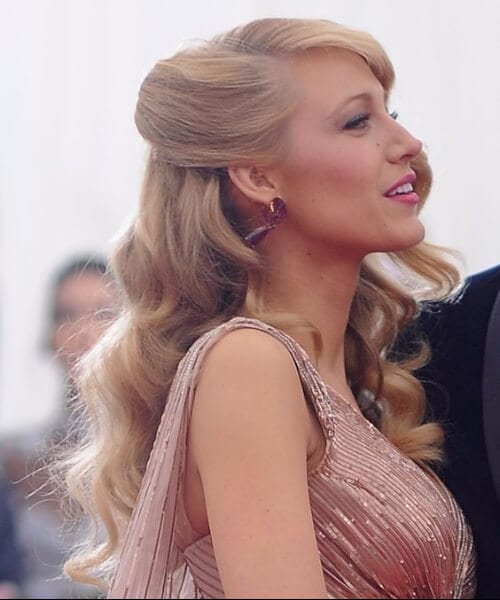 blake lively met gala homecoming hairstyles