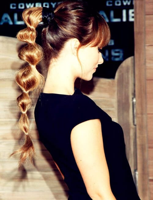 bubble braid olivia wilde hairdos for long hair