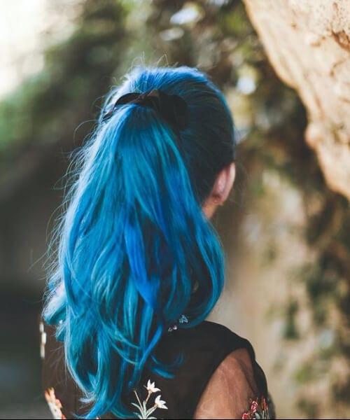 cerulian mermaid hair
