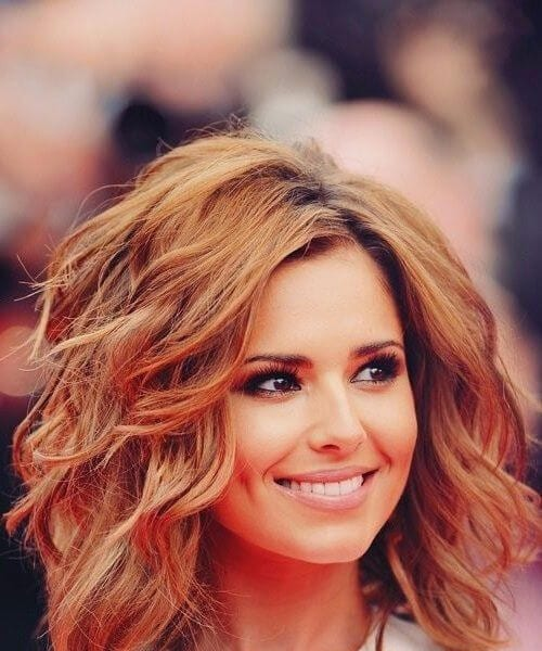 cheryl cole shoulder length hairstyles