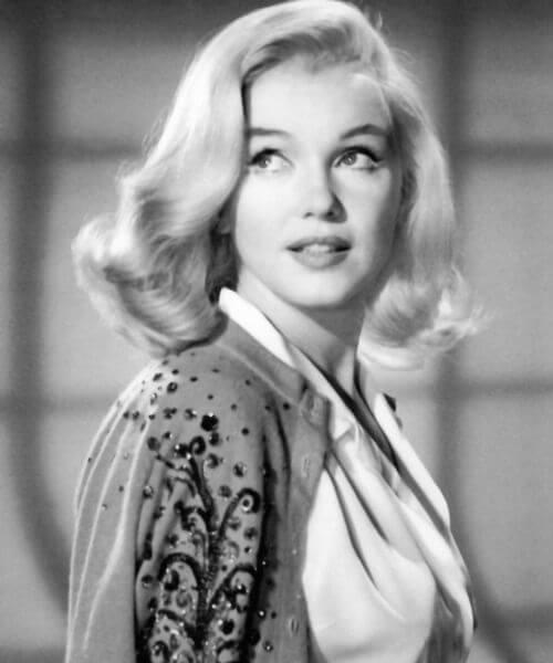classic hollywood marilyn monroe shoulder length hairstyles
