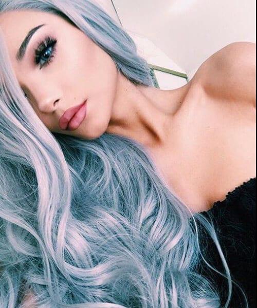elegant mermaid hair