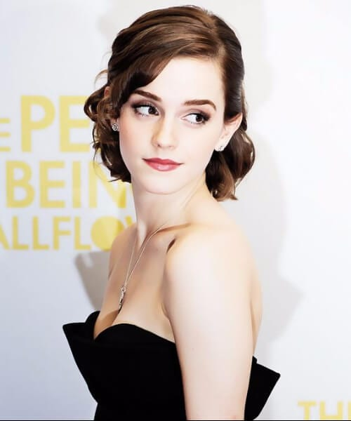 emma watson homecoming hairstyles