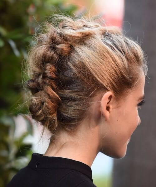 faux mohawk homecoming hairstyles