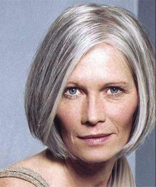 hairstyles for women over 50 simple bob