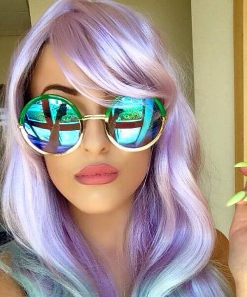hipster mermaid hair