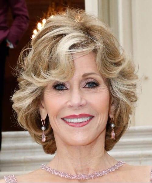 jane fonda hairstyles for women over 50