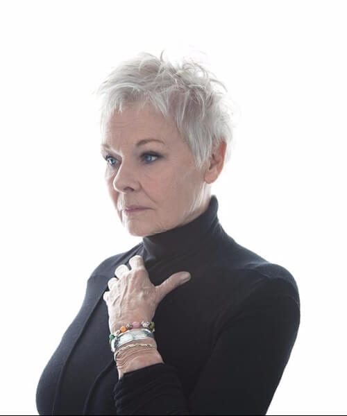 judi dench hairstyles for women over 50