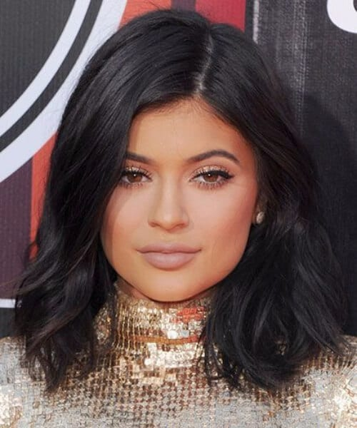 kylie jenner shoulder length hairstyles