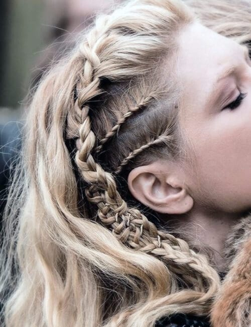 lagertha vikings braids updos for long hair