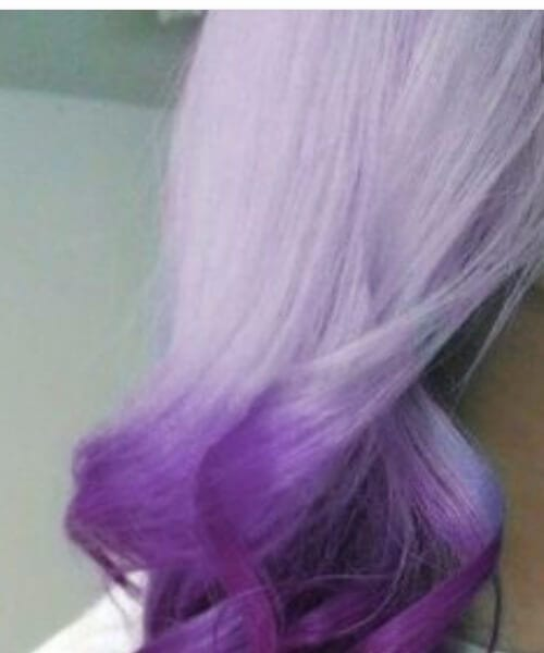 light and dark purple ombre hair