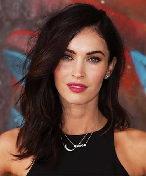 megan fox shoulder length hairstyles