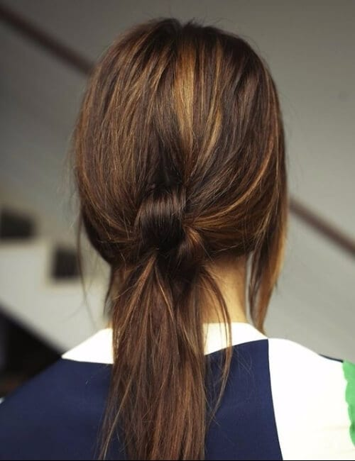 messy hair knot updos for long hair