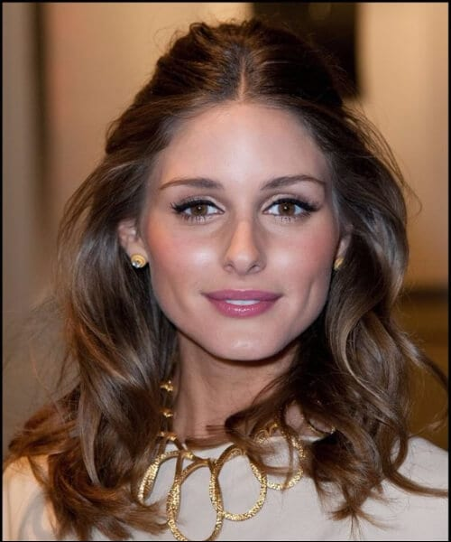 olivia palermo lazy shoulder length hairstyles