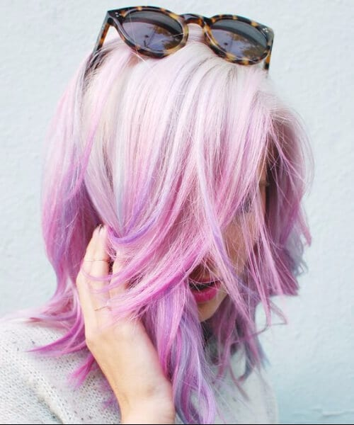 pastel mermaid hair