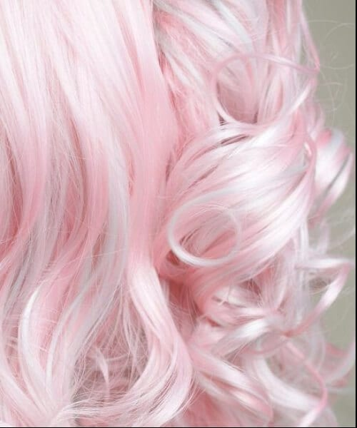 pink mermaid hair