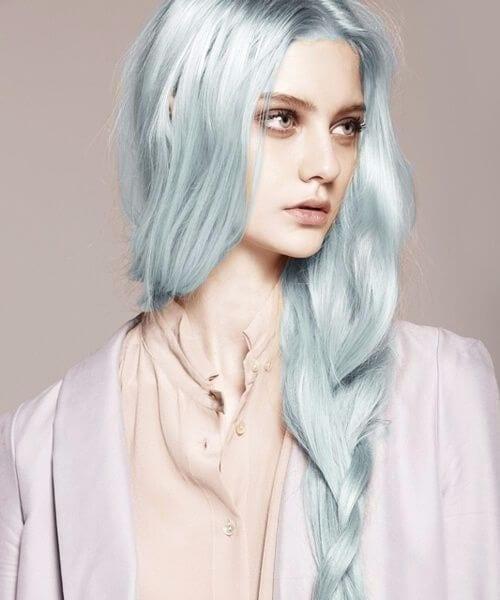 porcelain mermaid hair