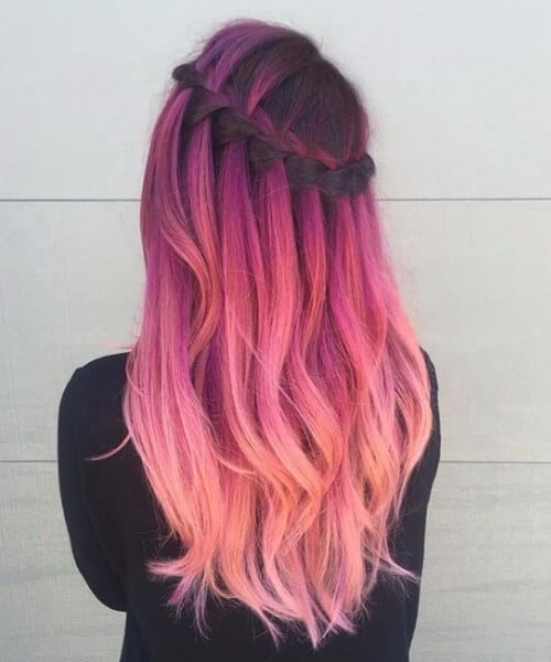 pastel pink ombre? | Hair styles, Dyed hair, Hair color pink | 600x500