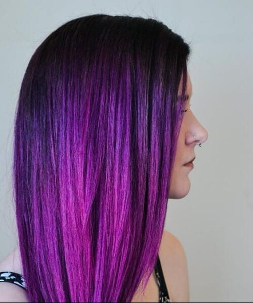 pink and purple hair styles 50 amazing purple ombre hair ideas my new hairstyles 3957 | purple ombre hair 8