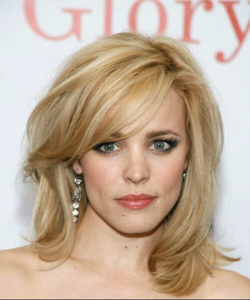 rachel mcadams shoulder length hairstyles