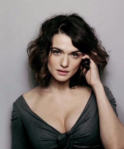 rachel weisz shoulder length hairstyles