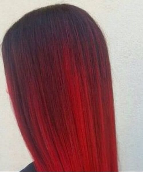 40 hottest ideas for red ombre hair my new hairstyles. Black Bedroom Furniture Sets. Home Design Ideas