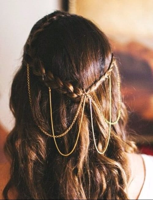 royal braids chestnut hair updos for long hair
