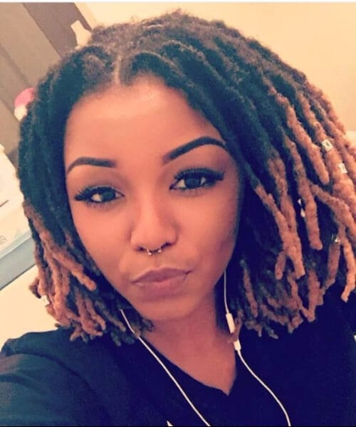shoulder length hairstyles dreads