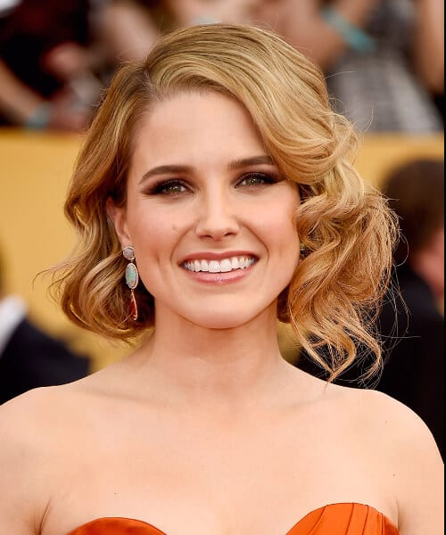 sophia bush shoulder length hairstyles